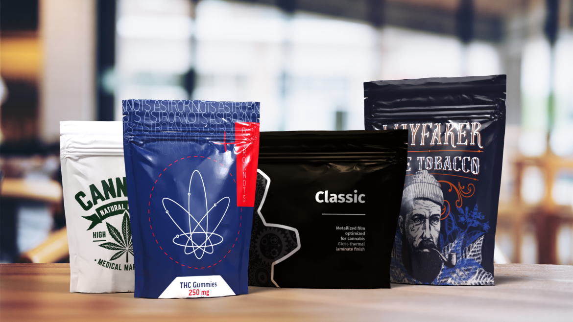 S-OneLP Cannabis Packaging
